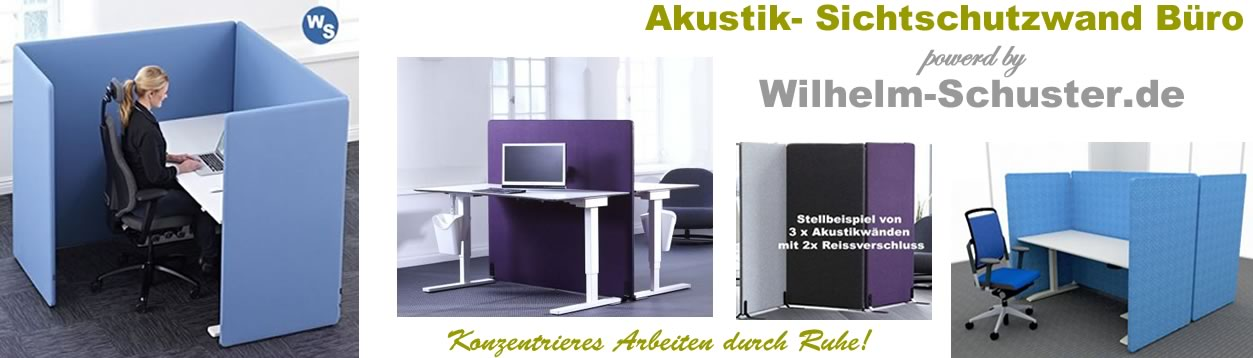 stellwand b ro akustik trennw nde von wilhelm schuster. Black Bedroom Furniture Sets. Home Design Ideas