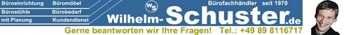 Bürostühle - Büromöbel beim Bürofachhändler Wilhelm Schuster-Logo