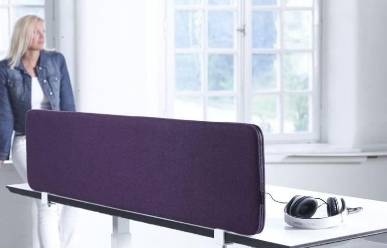 Schreibtisch akustiksichtschutzwand a40 platte for Schreibtisch trennwand