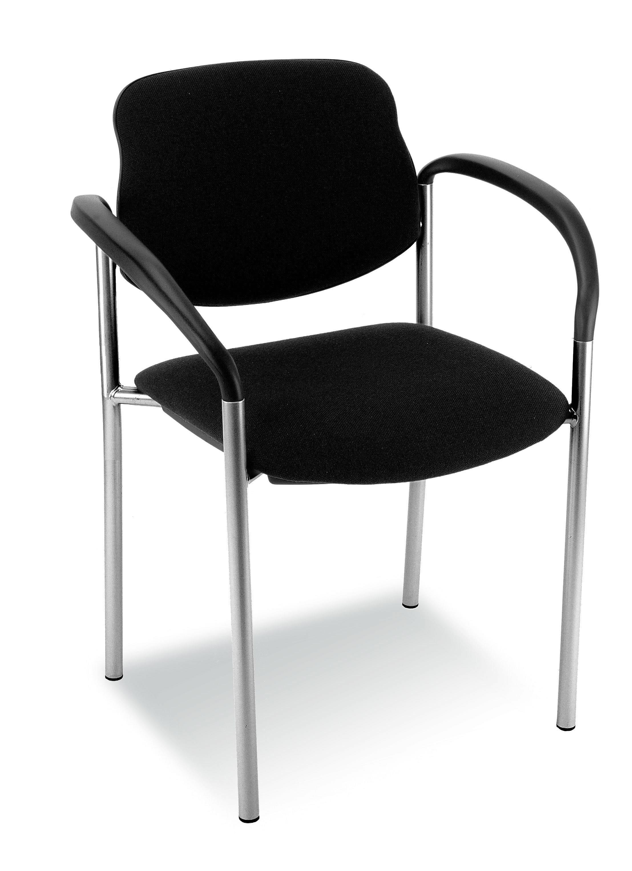 besucherstuhl sa vierfu verchromt armlehne sofort. Black Bedroom Furniture Sets. Home Design Ideas