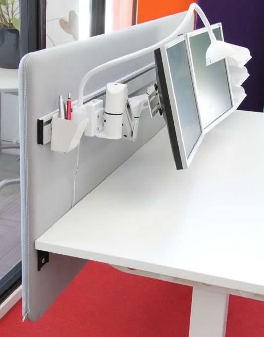 verst rkte schreibtisch akustiksichtschutzwand a30. Black Bedroom Furniture Sets. Home Design Ideas