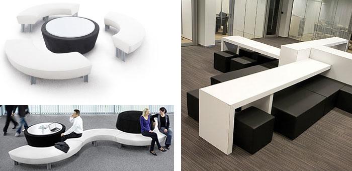Lounge Möbel Büro