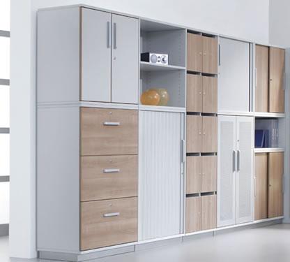 Büroschränke - Büroschrank System zur perfekten Einrichtung.