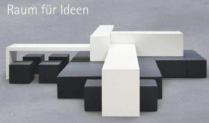 Meta-Fora Loungemöbel zur Kommuniktation - Wilhelm-Schuster