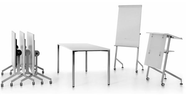 Convenio Konferenztisch klappbar rollbar Wilhelm Schuster
