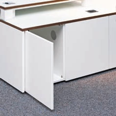 Tesara Sideboard Kabelmanagement