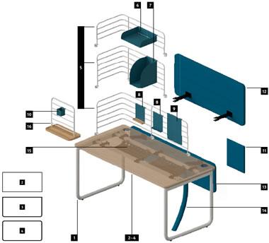 Büromöbel Zubehör - Design