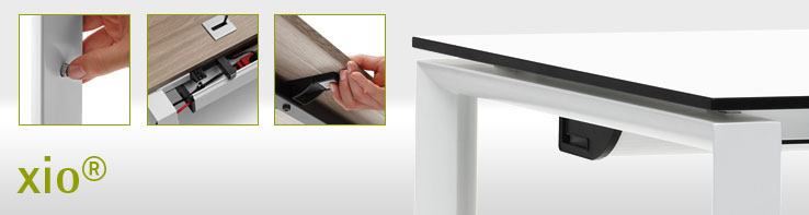Xio Bürotische   Schreibtische Mit Design Und Funktionalität
