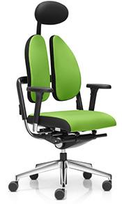 Ergonomischer bürostuhl bandscheibenvorfall  Duo Back Bürostühle ergonomisch mit geteilter Rückenlehne!