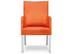 Tutti Loungesessel hoch orange