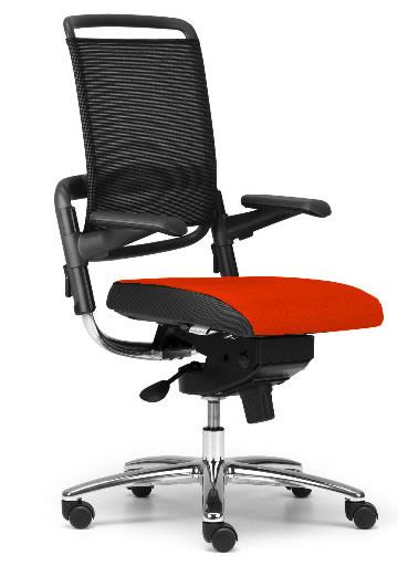 xenium freework net designstuhl mit 360 sitzball ergonomie. Black Bedroom Furniture Sets. Home Design Ideas